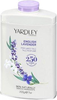 Тальк для тела Yardley Original English Lavender 200 г (5060322952246)