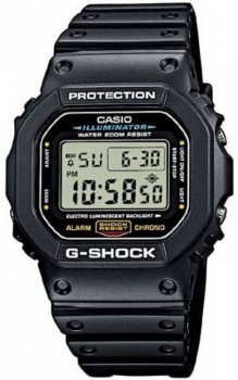 Чоловічі годинники Casio DW-5600E-1VER