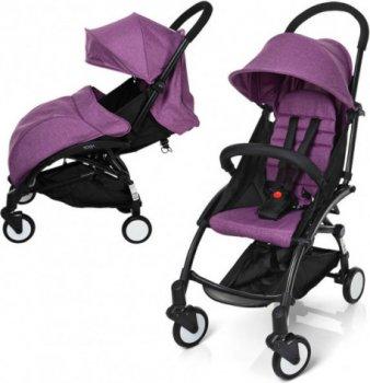 Прогулочная коляска El Camino Yoga M 3548-9-2 Violet (M 3548-9-2 violet) (6903184529012)