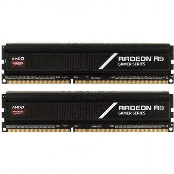 Модуль пам'яті для комп'ютера DDR4 16GB (2x8GB) 3200 MHz Radeon R9 AMD (R9S416G3206U2K)