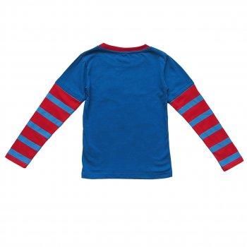 Лонгслив Mickey Mouse Disney для мальчика Синий с красным 5821