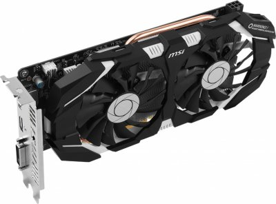 MSI PCI-Ex GeForce GTX 1060 OC 6GB GDDR5 (192bit) (1544/8008) (DVI, HDMI, DisplayPort) (GTX 1060 6GT OCV1)