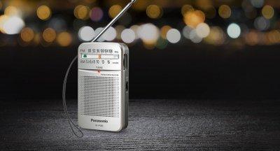 Радіоприймач Panasonic RF-P50DEG-S (6401157)