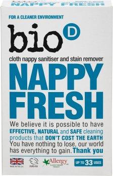 Антибактериальный порошок для стирки детской одежды Bio-D Happy Fresh 500 г (5034938100476)