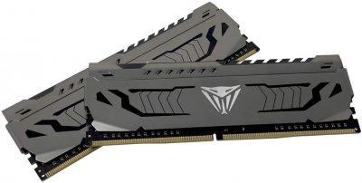 Оперативна пам'ять Patriot DDR4-3000 16384MB PC4-24000 (Kit of 2x8192) Viper Steel (PVS416G300C6K)