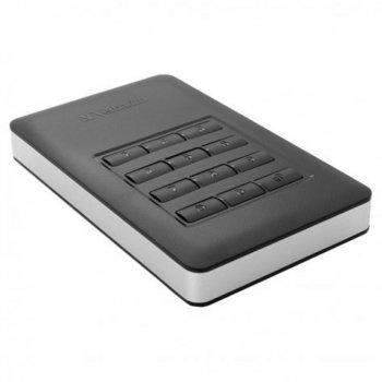 """Зовнішній жорсткий диск HDD 2.5"""" USB 3.1 1Tb Verbatim Store n Go Black (53401)"""