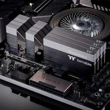 Модуль памяти для компьютера DDR4 16GB (2x8GB) 4400 MHz Toughram Black ThermalTake (R017D408GX2-4400