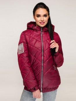 Куртка Favoritti В-1270_5 Темно-красная
