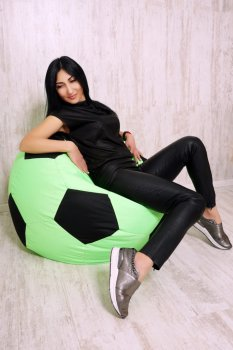 Кресло-мяч BeanBag Big Ball Lime/Black