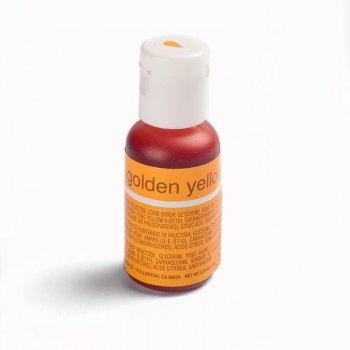 Пищевой краситель Chefmaster Liqua-gel гелевый золотисто-желтый 21 г