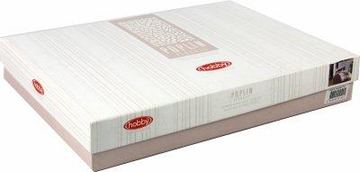 Комплект постельного белья Hobby Poplin Arianna 200х220 Сливовый (8698499140001)