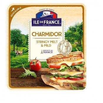 Сир напівтвердий Ile De France Шармідор нарізка 150г
