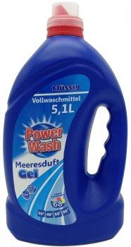 Гель для стирки Power Wash Volwaschmittel Универсальный 5.1 л (4260145997481)