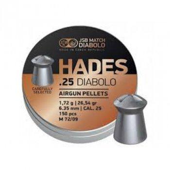 Пули пневм JSB Hades, 6,35 mm