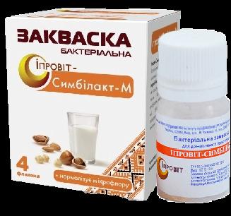 Закваска Ипровит-Симбилакт-М на 3 л молока