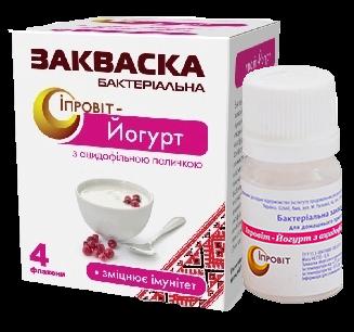 Закваска Ипровит-Йогурт с ацидофильной палочкой на 3 л молока