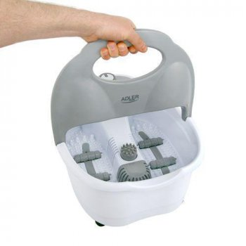 Ванночка для ног Adler с инфракрасным нагревом (массажные пузырьки, вибрация и сухой массаж ) AD 2167