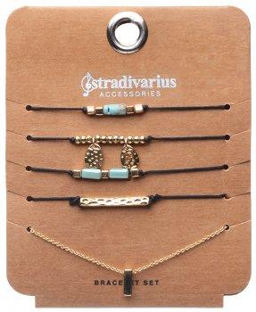 Браслет Stradivarius st07770020 5 шт Золотистый (2000000146966)