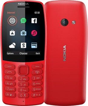 Мобільний телефон Nokia 210 Dual Sim Red (16OTRR01A01)