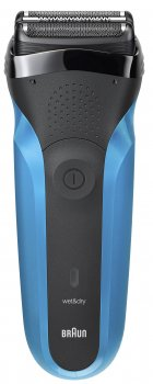 Электробритва-триммер BRAUN Series 3 310BT Wet&Dry black/blue