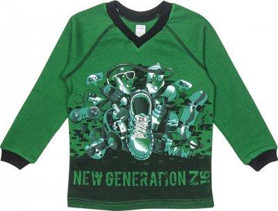 Пуловер Z16 3ІН108 (2-54) Зеленый
