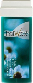 Воск для депиляции ItalWax Азулен в картридже 100 мл (8032835160019)