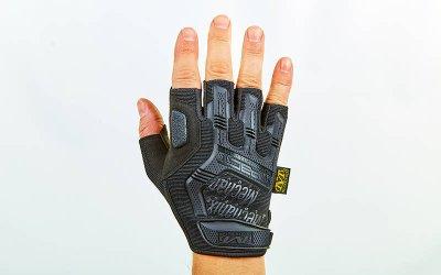 Перчатки тактические с открытыми пальцами MECHANIX BC-5628 Черный XL (MR03907)