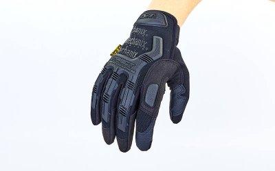 Перчатки тактические с закрытыми пальцами MECHANIX BC-5629 Черный М (MR03961)