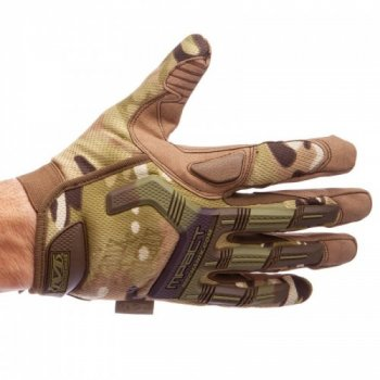Перчатки тактические с закрытыми пальцами MECHANIX MPACT BC-5622 Камуфляж Multicam М (MR04020)