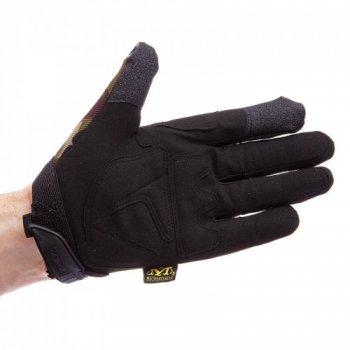 Перчатки тактические с закрытыми пальцами MECHANIX WEAR BC-4699-H Камуфляж Woodland XL (MR03969)