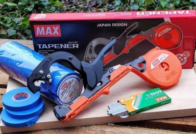 Степлер MAX HT-R1+ Стрічка 20 шт Max (Оригінал) + Скоби Max 4800 шт (Оригінал) (Max_R1-KIT)