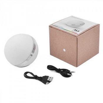 Акустическая система AIR(5465N), Bluetooth Блютуз колонка портативная c функцией speakerphone, матовый шар