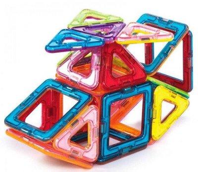 Магнитный конструктор Limo Toy MAGniSTAR 1001 30 деталей Цветные магниты Геометрические фигуры