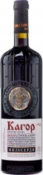 Вино Таїрово Кагор Милосердя десертне солодке червоне 0.7 л 16% (4820001726336)