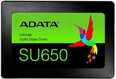 "Накопичувач SSD A-DATA Ultimate SU650 480GB 2.5"" SATAIII 3D NAND TLC (ASU650SS-480GT-R)"