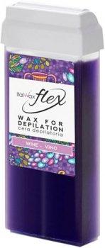 Воск для депиляции ItalWax Flex Вино в картридже 100 мл (8032835173040)