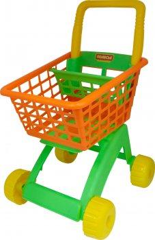 Візок для маркету Полісся Жовтогарячо-салатовий (7438-2) (4810344007438-2)