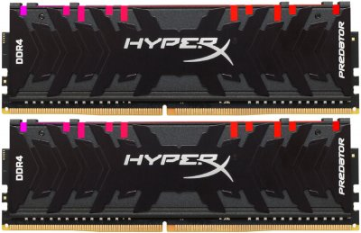 Оперативна пам'ять HyperX DDR4-3600 32768 MB PC4-28800 (Kit of 2x16384) Predator RGB (HX436C17PB3AK2/32)