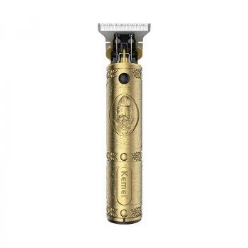 Машинка для стрижки волос профессиональная триммер для бороды окантовочная машинка Kemei KM-700B