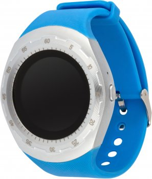 Смарт-годинник Atrix Smart Watch X5 IPS Pulse and AD Silver-Blue (swtax5sbl)