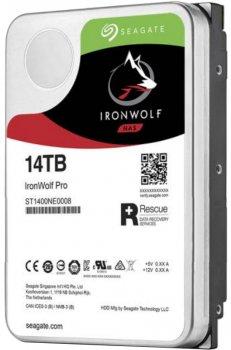 "Жорсткий диск Seagate IronWolf Pro HDD 14TB 7200rpm 256MB ST14000NE0008 3.5"" SATAIII"