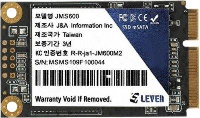 Leven JMS600 128GB mSATA SATAIII TLC (JMS600-128GB)
