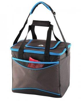 """Ізотермічна сумка """"Collapse & Cool, Sport 36"""", 22 л, білий з блакитним"""
