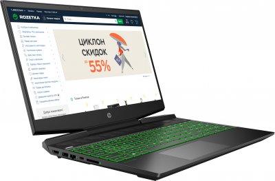 Ноутбук HP Pavilion Gaming 15-dk0001ua (1S8B9EA) Dark Grey Суперціна!!!