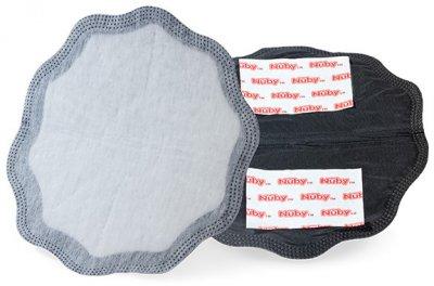 Накладки для грудей Nuby бавовняні одноразові білі 30 шт. (NV0107001)