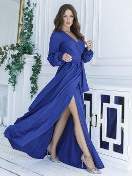 Плаття ISSA PLUS 12107 Синє
