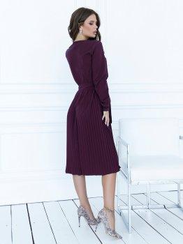 Плаття ISSA PLUS 12121 Фіолетове