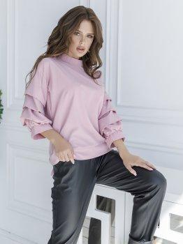 Блузка ISSA PLUS SA_21 Розовая