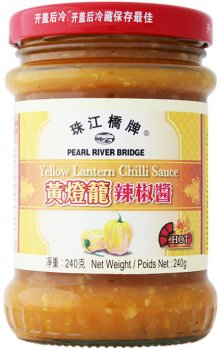 Соус Pearl River Bridge Чили из перца Yellow Lantern 240 г (6947593018200)