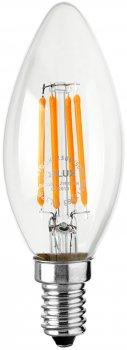 Світлодіодна лампа DELUX BL37B 6 Вт 4000 K 220 В E14 filament (90011684)